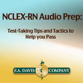 f a davis s nclex rn audio prep test taking tips and tactics to