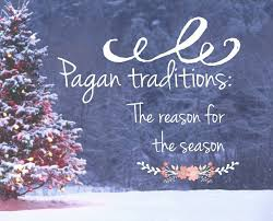 yourself a pagan not