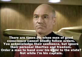 Star Trek Picard Meme - star trek the next generation meme men of good conscience on
