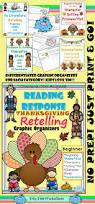 thanksgiving graphic organizer reading response thanksgiving beginner no prep graphic organizers