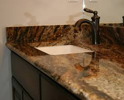 Bathroom Vanity With Blue Fire Stone Top Notch Tops Omaha - Bathroom vanity tops omaha