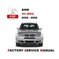 bmw x3 2006 manual bmw 2006 bmw x3 in manuals literature ebay