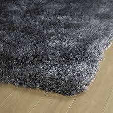 Silver Grey Rug Kaleen Rugs Posh Shag Psh01 75 Grey Area Rug Carpetmart