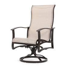 High Back Sling Patio Chairs by Mallin Patio Furniture Albany Patio Furniture Sling Furniture