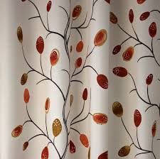 home decor fabric woodstock branches orange fabricville