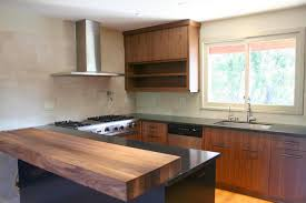 walnut kitchen cabinets modern kitchen decoration