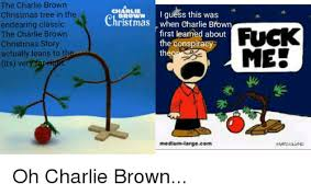 Charlie Brown And Christmas Tree - 25 best memes about charlie brown christmas charlie brown