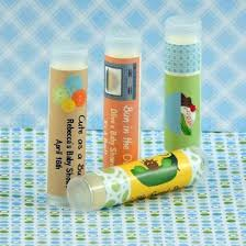 lip balm favors personalized boy baby shower lip balm favors set of 15 partyfavors