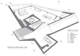 modern architecture floor plans cascading lava flows inspiring modern architecture hebil 157