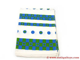 torchon de cuisine design cuisine design 1960 bleu et vert