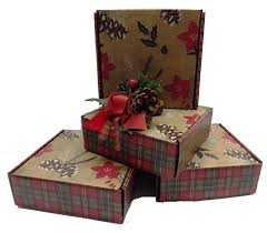 Food Gift Boxes Gift Baskets Christmas Christmas Pinecones U0026 Poinsettias