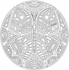 detailed mandala coloring pages adults free images coloring