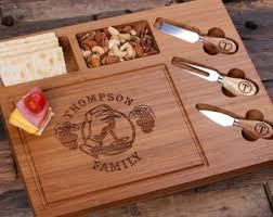 personalized cheese tray cheese etsy