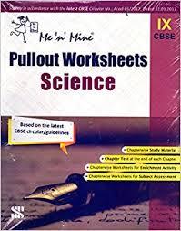 me u0027n u0027 mine pullout worksheets science class 9 amazon in