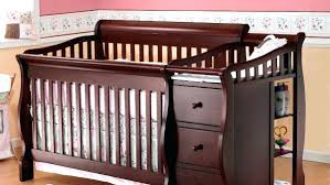 Baby Cribs With Changing Table Attached Crib With Dresser Attached Fresh Black Baby Cribs Changing Table
