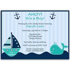 ahoy it u0027s a boy whale teal baby shower invitation boy baby