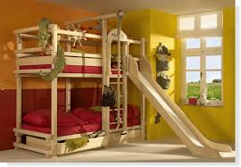 Play Bunk Beds For Large Families From Woodland Kidsomania - Kids bunk bed