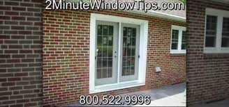 How To Install A Patio Door by How To Install Patio Doors In A Brick Wall Construction U0026 Repair