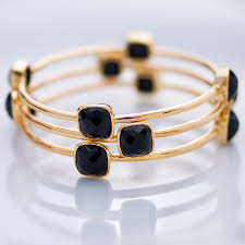 gold onyx bracelet images Bobbie mccardell holiday sale bangle black onyx bracelet jpg