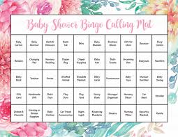 spring baby shower game download for baby bingo u2013 celebrate