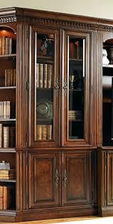 Glass Door Bookshelf Amazon Com Hooker Furniture European Renaissance Ii Glass Door