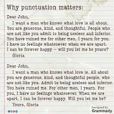 same words different meanings same words different punctuation and the result is different