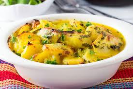 easy saffron potato bake erren u0027s kitchen