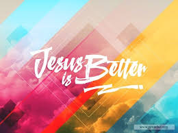 service background for church services jesus is better