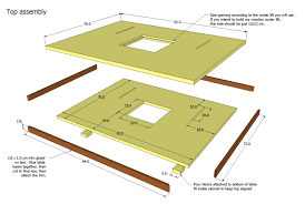 making a router table top assembly png