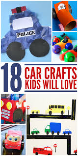 18 car crafts for kids frugal mom eh