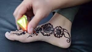 beautyfull bridal henna foot design 2016 by zarin islam from