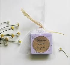soap favors lavender wedding favors purple soap favors for