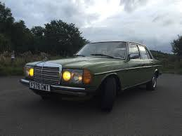 classic lhd mercedes benz w123 200d manual in perfect condition