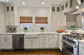 Fireclay Kitchen Sinks by Kitchen With Farmhouse Sink U0026 Glass Panel In Oakland Ca Zillow
