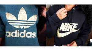 how to diy nike u0026 adidas hoodies sweatshirts easy youtube
