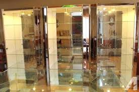 curio cabinet with light curio cabinet with lighting 3 glass curio cabinets with lights and
