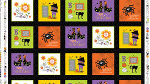Halloween Fabric Panels by Mind Your Mummy By Kimberbell Designs Youtube