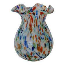 Vintage Orange Glass Vase Vintage U0026 Used Murano Vessels And Vases Chairish