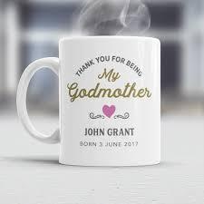 godmother mug godmother gift godmother mug godmother present be my will you