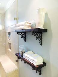 Wooden Shelves For Bathroom Wooden Bathroom Shelves Ccode Info