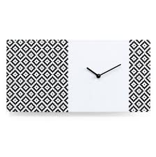 Orologio Karlsson by Stylish Designer High End Modern Horizontal Rectangular Wall