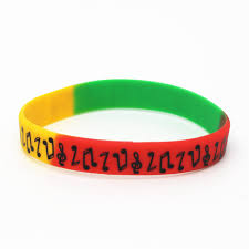 silicone bracelet black images Lukeni 1pc new music note silicone wristband for music fans black jpg