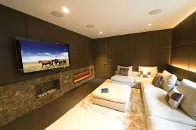 Theatre Room Design - family room home theater design ideas monaco av solution center