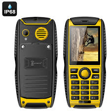 Rugged Cell Phones Water Dust Shock Proof Mobile Phones
