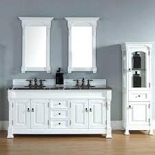 white bathroom storage towerkraal white cabinet crate and barrel