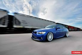 bmw slammed vossen wheels bmw 3 series m3 vossen cv5