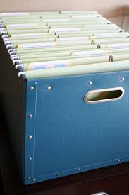 Decorative Hanging File Boxes 150 Dollar Store Organizing Ideas And Projects For The Entire Home