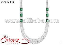 diamond long necklace images Diamond necklace classic threeline necklace designer diamond jpg