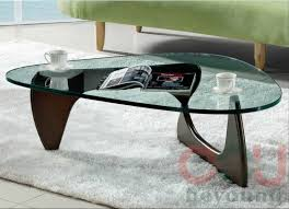Noguchi Coffee Table Replica Noguchi Replica Coffee Table Polished Chrome Metal Accents