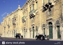 malta valletta remparts old cars vauxhall dx 1934 and mg tc